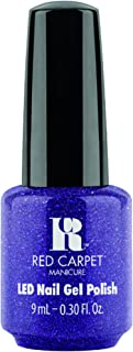 Red Carpet Manicure Gel Polish - It's a Luxe Life Holiday 2016 Collection - Throw Some Glitter On It - 9ml / 0.3oz