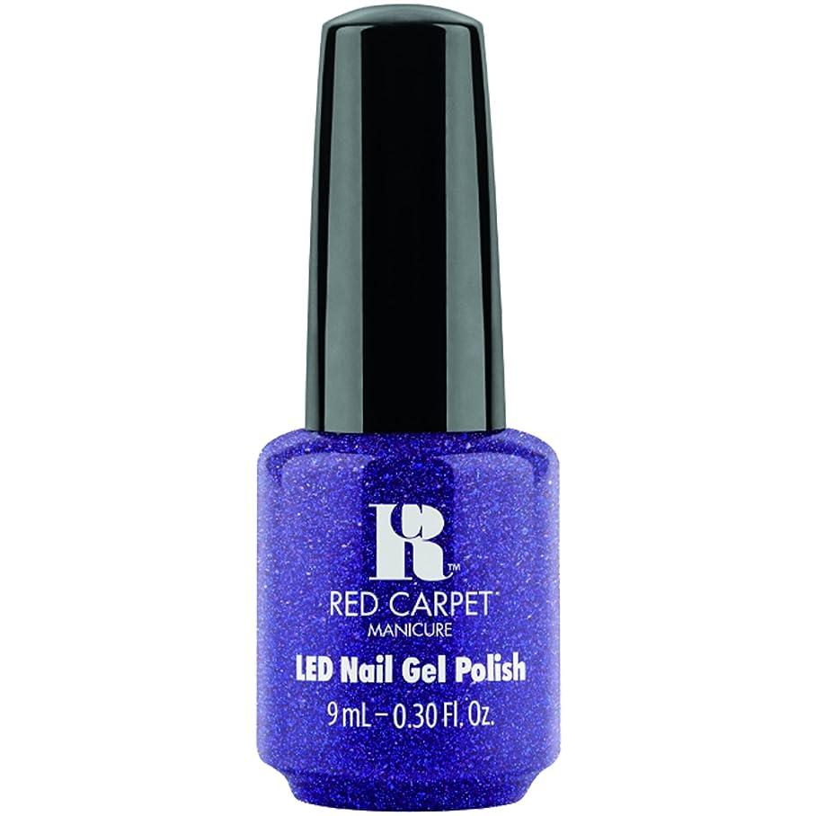 ワーカー先に神経衰弱Red Carpet Manicure - LED Nail Gel Polish - Throw Some Glitter On It - 0.3oz / 9ml