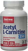 Jarrow Formulas Acetyl L-Carnitine 250mg – 120 Vcaps 120 Tablet Estimated Price : £ 16,10