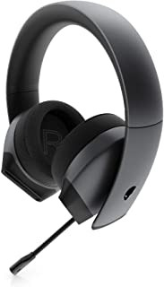 Alienware 7.1 PC Gaming Headset AW510H-Dark: 50mm Hi-Res Drivers - Noise Cancelling Mic - Multi Platform Compatible(PS4,Xb...
