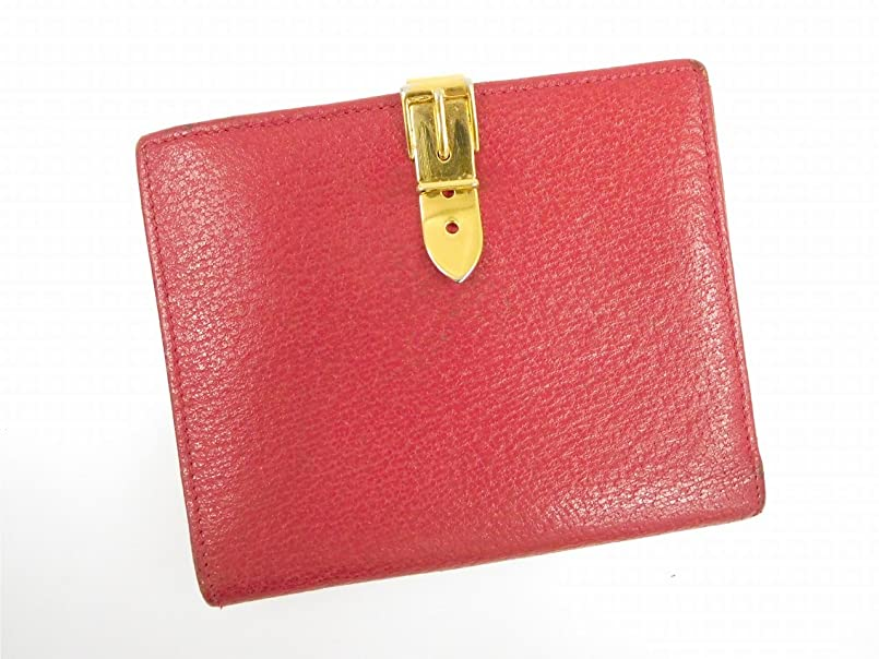 反動噛む感情の[グッチ] GUCCI 二つ折り財布 レザー X11561 中古