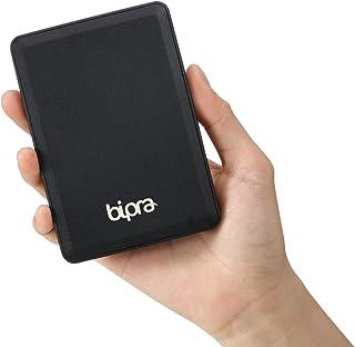 """Bipra U3 2.5"""" USB 3.0 FAT32 draagbare externe harde schijf - zwart (100GB)"""