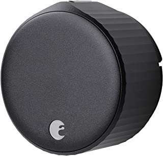 August Wi-Fi, (4th Generation) Smart Lock – Fits Your Existing Deadbolt in Minutes, Matte Black