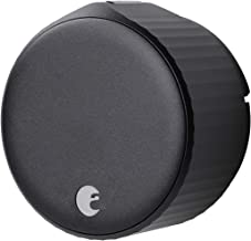 August Wi-Fi Smart Lock (Matte Black)