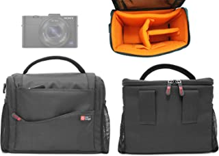 DURAGADGET Adjustable Shoulder Strap Protective Water Resistant Case with Soft Interior Lining - Suitable for Sony HDR-AS30V|HDR-AS15|DSCRX100M2.CE3|DSC-HX20V|NEX-3NLB|Cyber-Shot HX50 DSCHX50