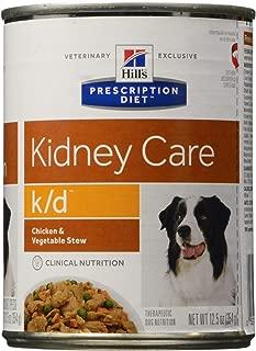 HILL'S PRESCRIPTION DIET k/d Canine Renal Health - Chicken & Vegetable Stew - 12x12.5oz