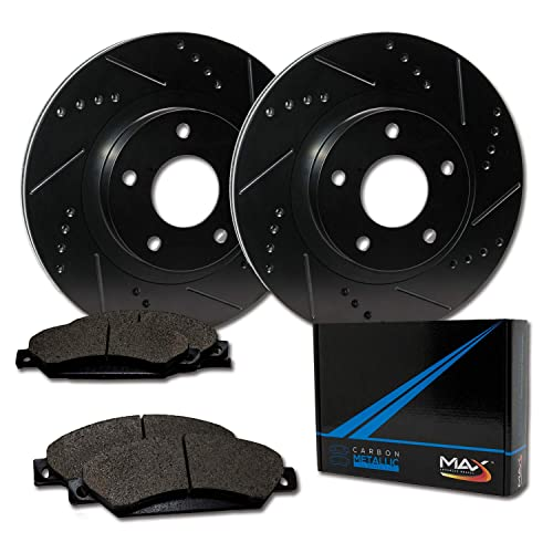 Front Premium OE Brake Disc Rotors Pair Set 2000 2001 2002 DODGE DURANGO