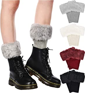 Best fur top boot socks Reviews