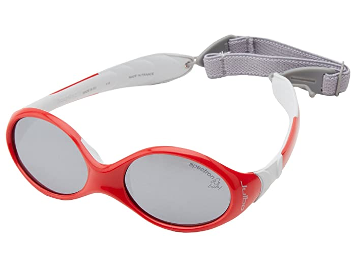 Julbo Eyewear Juniors  Kids Looping 1 Sunglasses (Ages 0-18 Months Old) (Red/Grey With Spectron 4 Baby Lens) Fashion Sunglasses