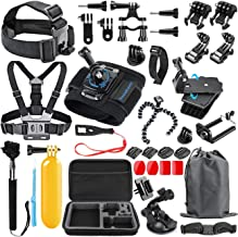 SmilePowo 48-in-1 Accessories Kit for GoPro Hero 7 6 5 4...
