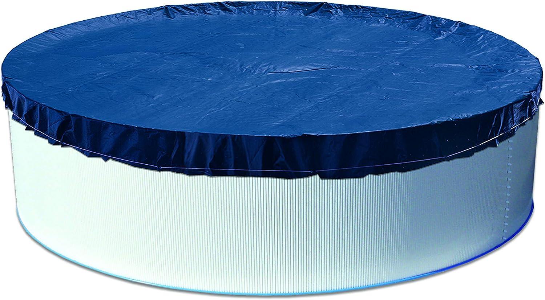 Steinbach Verano Cubierta para Piscinas Redondas, diámetro 460cm, Azul, 460x 460x 0.1cm, 036220