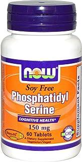 NOW FOODS SPO Phosphatidyl Serine Soy-Free 150 Mg, 60 CT