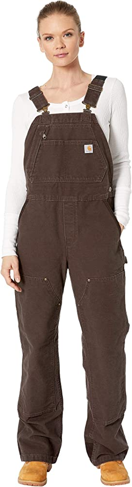 a9646227989 Carhartt Crawford Double Front Bib Overalls at Zappos.com