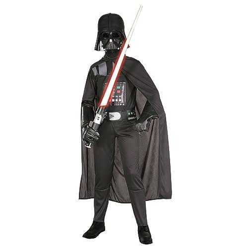 Star Wars Darth Vader Disfraz con máscara, L (8-10 años) (Rubie'S 882009-L)