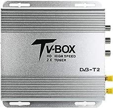 Godyluck HD Car Digital TV Receiver Car Mobile HD DVB-T2 Receiver Digital Sat Decoder with USB Full HD