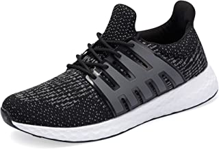 A-PIE Men's Running Athletic Shoes Breathable Lightweight Fashion Sneakers Casual Walking Shoes