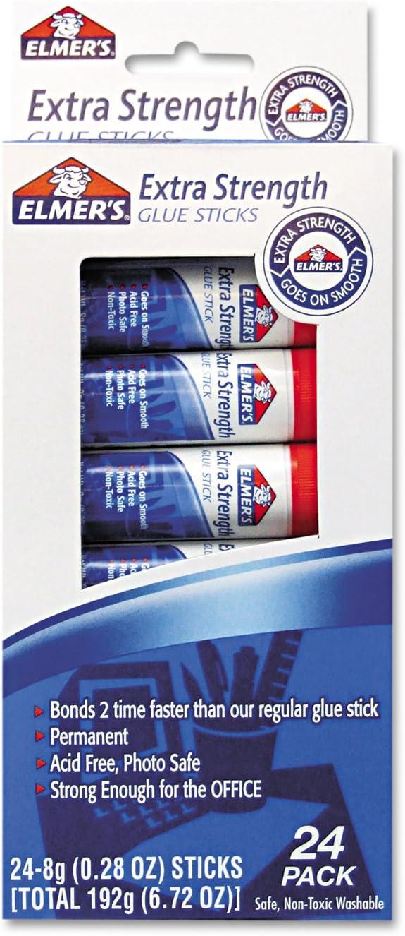 EPIE554 - Ranking TOP9 Elmer's Extra Office Strength Glue Max 40% OFF Sticks