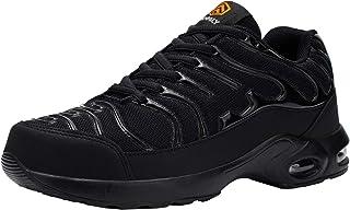 Fenlern Chaussure de Securite Homme Legere Résistance à la Perforation Baskets de Sécurité Embout Acier Chaussures de Travail
