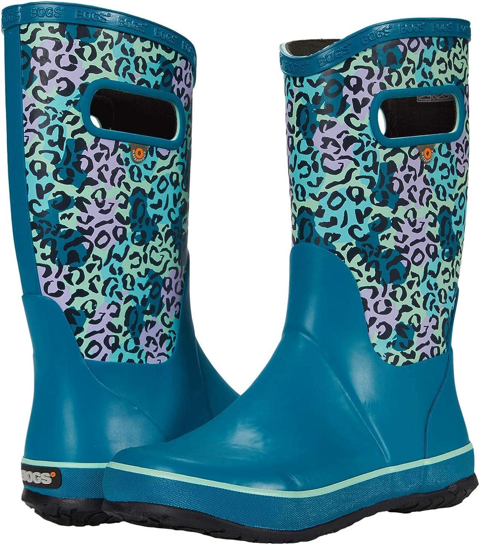 BOGS girls Rain Boots Leopard (Toddler/Little Kid/Big Kid)