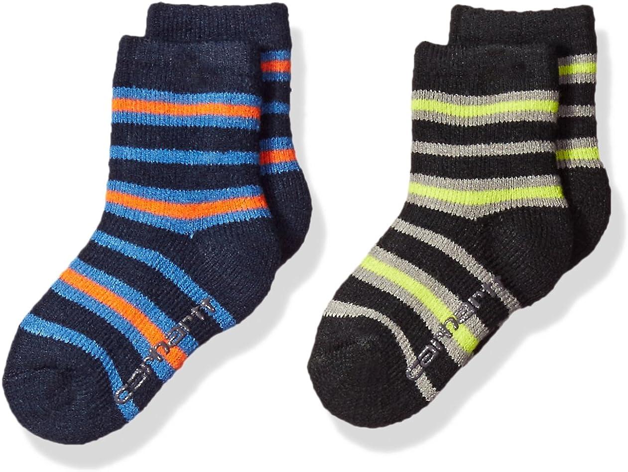 Carhartt Boys' Crew Socks with Grippers 2-Pair