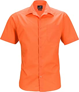 James /& Nicholson Mens Business Shirt Shortsleeve Camisa de Oficina para Hombre