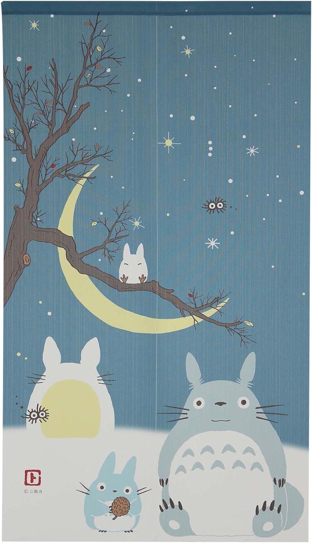 Studio Ghibli Totoro Noren Curtain 4 years warranty and Sky Winter Long-awaited Cresc Tapestry