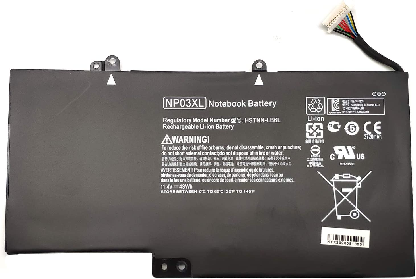 EndlessBattery NP03XL Replacement Laptop Battery with Challenge the lowest price Compatible Many popular brands