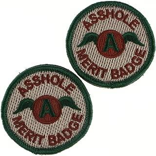 Tactical Patch : Asshole Merit Badge