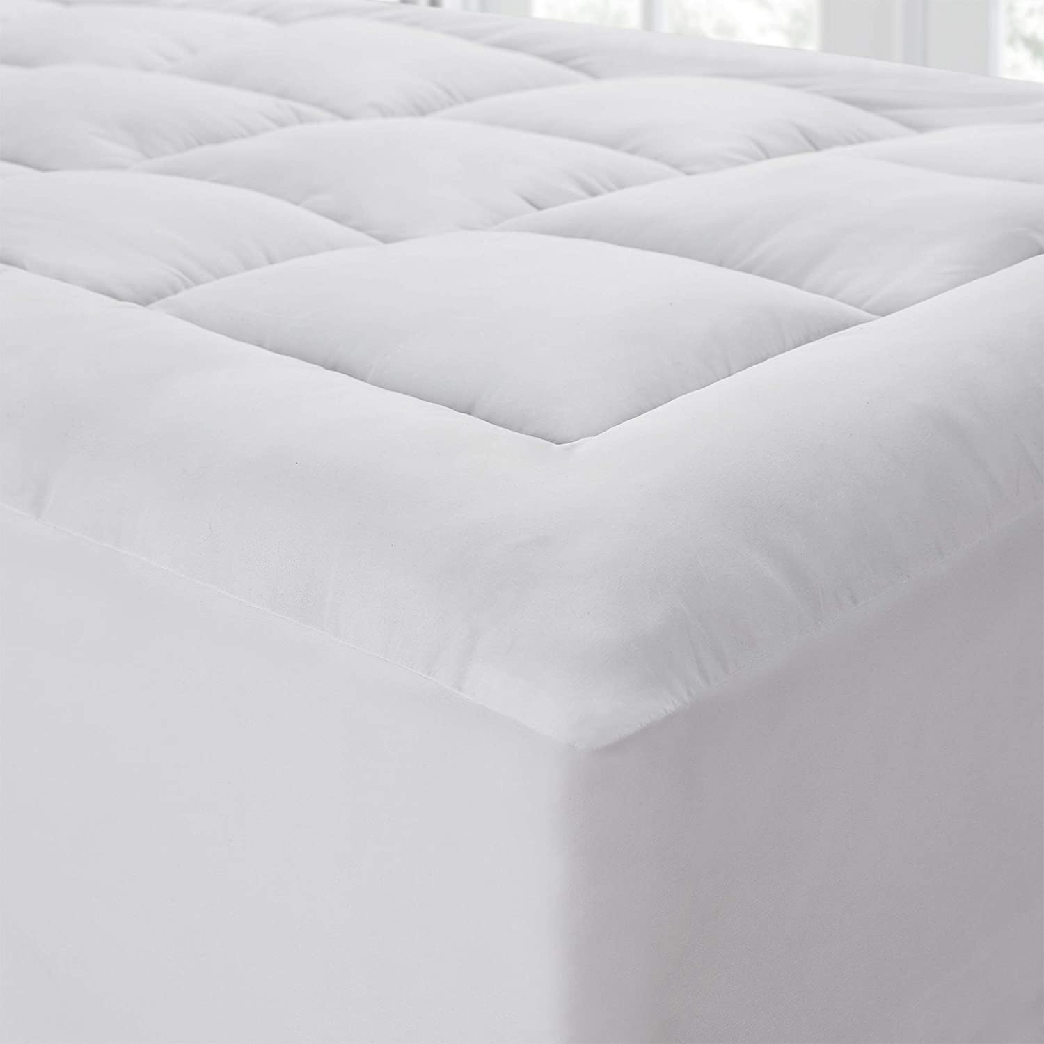 The Mega-Thick Indianapolis Mall Mattress Pad Pillow-Top 25% OFF - Topper Queen