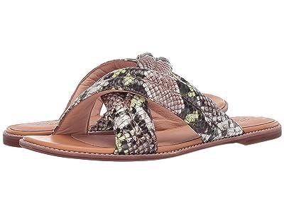 Madewell Skyler Slide Sandal (Mint Cream Multi) Women