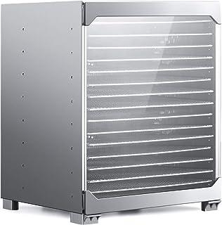 BioChef Kalahari Dörraautomat/Dörr Rostfritt stål med 16 fack, 100 % BPA-fri, LED-indikering, dörr av härdat glas, inklusi...