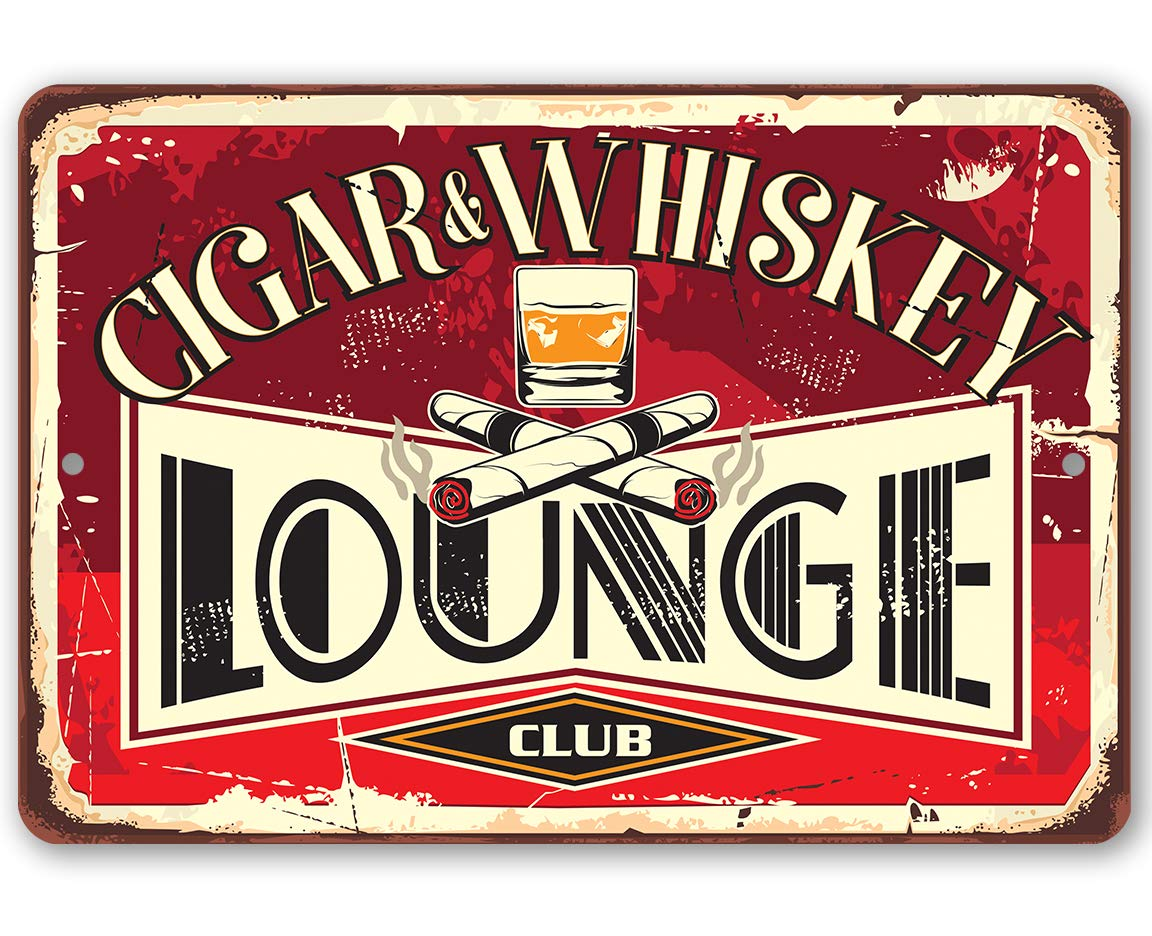 Metal Sign - Ranking TOP5 Cigar Great interest Lounge Outd Indoor Durable Use