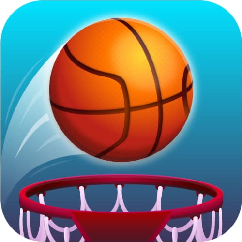 Hot Dunk: Addicting Tap Tap Basketball Ring Strich Spiele