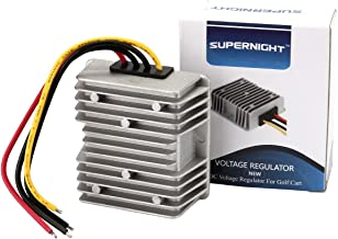 GOLF CART voltage reducer converter 48V to 12V 10A 120W