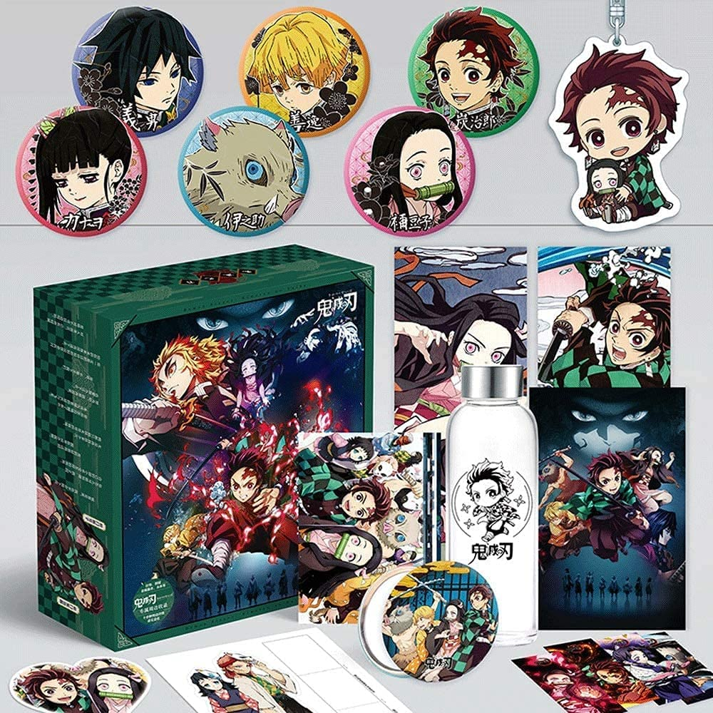 Regular store Great interest UimimiU Demon Slayer Anime Gift Box M with Water Pendant Cup Set
