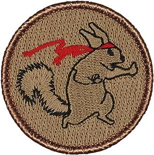 Ninja Squirrel Patrol Patch - 2