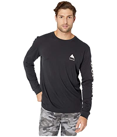 Burton Elite Long Sleeve T-Shirt (True Black) Men