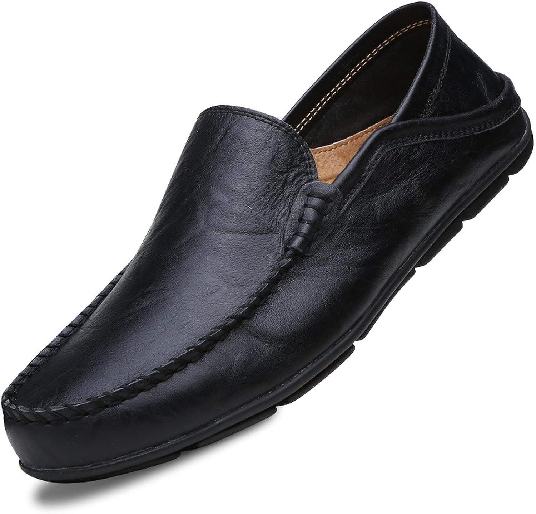FJ-Direct Men shoes Genuine Leather Comfortable Men Casual shoes Sport Footwear shoes Flats for Men Slip On Lazy shoes shoes Hombre