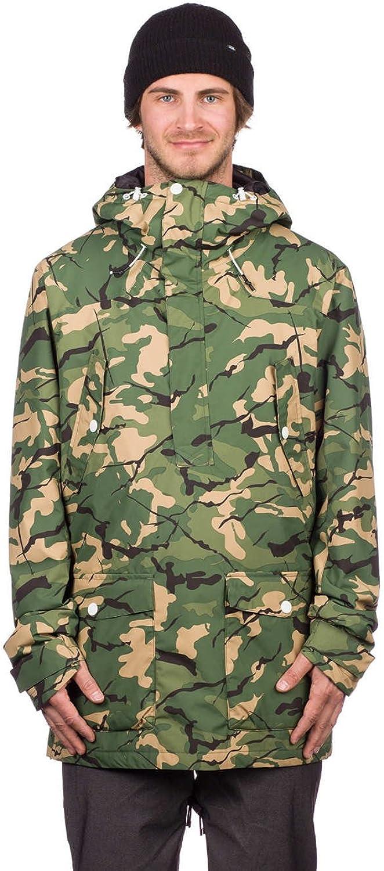 WearColour Forest Colour Anorak Snowboarding Jacket