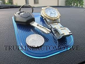 TRUE LINE Automotive Dashboard Anti-Slip Sticky Pad Phone GPS Sunglass Holder (Blue)