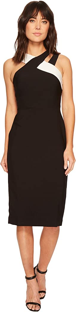 Maggy London Mystic Crepe Color Block Sheath