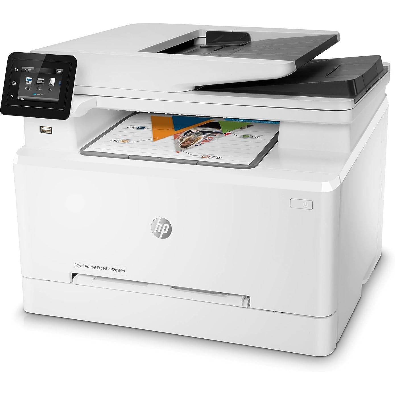 HP Laserjet Pro M281fdw All in One Wireless Color Laser Printer (T6B82A) (Factory Re-Certified)