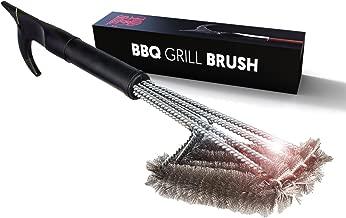 Best BBQ Grill Brush 4-in-1 Head Design | 18