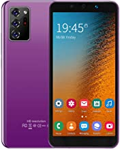 Smartphone, Face Unlock Smartphone, Dual Cards Dual Standby Smartphone, for Android 8.1 854X480 Resolution(Purple)