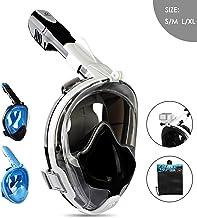 ماسک گانوو اسنوکرل صورت کامل برای بزرگسالان کودکان ، ماسک غواصی با غواصی با دوربین دوربینی قابل جدا شدن ، مجموعه خشک کن برتر