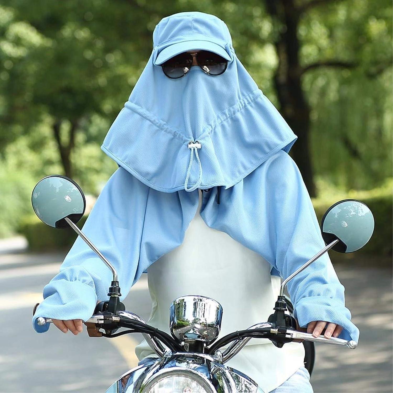 GHANDG Beach Hat Woman Hat Summer Foldable Outdoor Visor Bike Cap Face Cap Fishing Cap bluee Summer Sun Hat