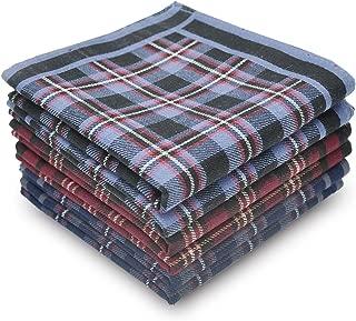 Men's Handkerchiefs 100% Cotton Classic Soft Size 17
