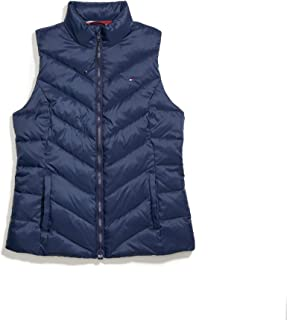 womens Tommy Hilfiger Women's Adaptive Puffer Vest With Magnetic Zipper