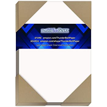 Light Medium Weight Thickness PaperBoard .024 Point 100 Sheets Chipboard 24pt White 1 Side 5.5X8.5 Inches Half Letter 5.5 X 8.5 Statement Size Caliper White Coated Cardboard Paper