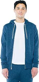 American Apparel Men's Tri-Blend Terry Long Sleeve Zip Hoodie